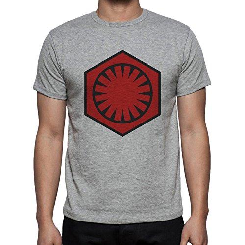 Emblem Of The First Order Herren T-Shirt Grau