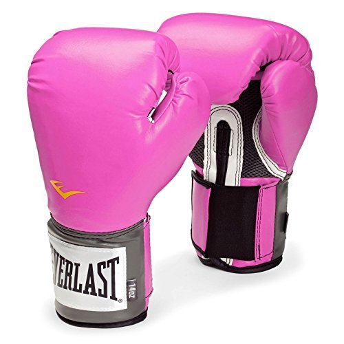 Everlast PU - Guantes de boxeo para mujer rosa rosa Talla:236 ml