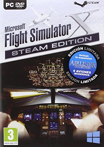 Flight Simulator X + Airliner Collection
