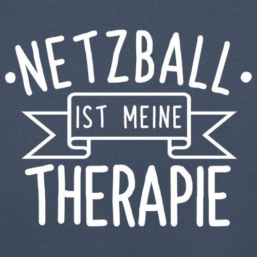 Netzball ist meine Therapie - Herren T-Shirt - 13 Farben Navy