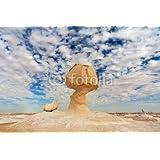 Insólito Rock formaciones en Colour blanco del desierto, Farafra, de Egipto (61221931), lona, 90 x 60 cm