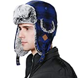 SIGGI -  Cappello aviatore  - Uomo 89079_Blau Medium