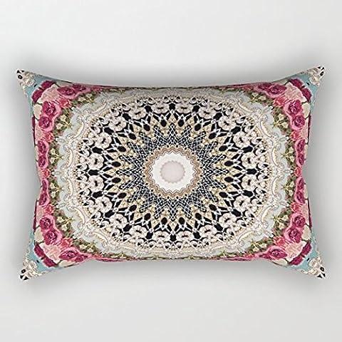 Mandala hahusheze Funda de almohada Funda de cojín (60x 40cm