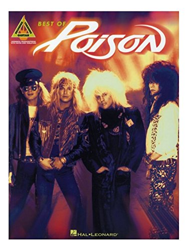 Best Of Poison (Guitar Recorded Versions). Partitions pour Tablature Guitare