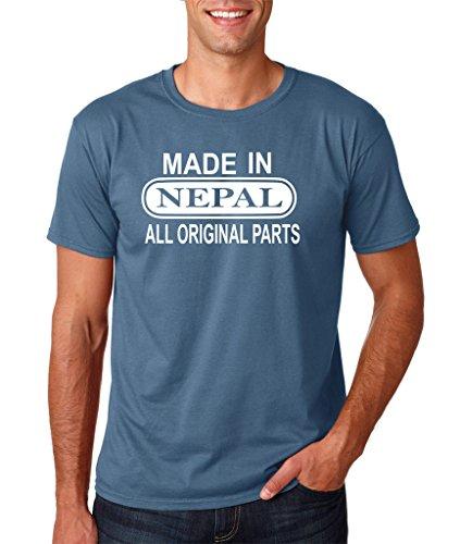 Daataadirect Herren T-Shirt Indigoblau