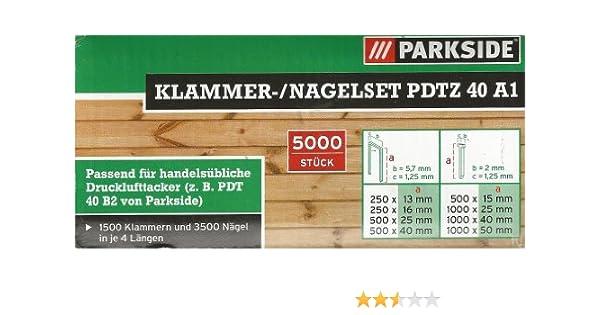 5000 Nägel für Drucklufttacker 15mm