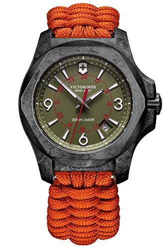 Victorinox Uhren-Set I.N.O.X. Carbon Limited Edition, mit 2 Armbändern 241800.1