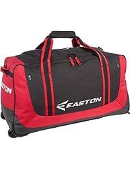 Easton sinergia con ruedas grande negro y rojo blanco / rojo