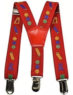 Bretelle Elasticizzata per Bimbo 0-2 Anni, 'Y' Clip Forme Modello