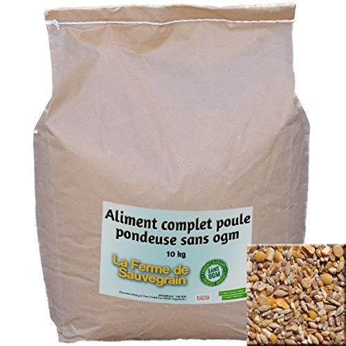 La Ferme Sauvegrain Aliment Complet Poule pondeuse sans OGM...