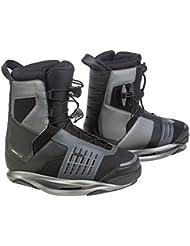 Ronix Preston - Botas de wakeboard para hombre, color negro, talla 47-48