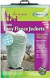 Haxnicks - Confezione da 2 sacche protettive per piante, 35 g/mq, con cordoncino per chiusura