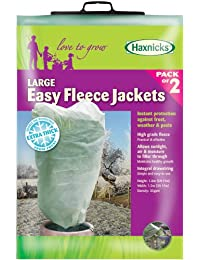 Haxnicks Fleece030101 Large Pack of 2 Easy Fleece Jacket, Transparent, 120x0.03x180 cm