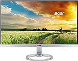 Acer H277Hsmidx 69 cm (27 Zoll) IPS Monitor (DVI, HDMI, VGA, Full HD 1.920 x 1.080, 4 ms Reaktionszeit, EEK A) silber