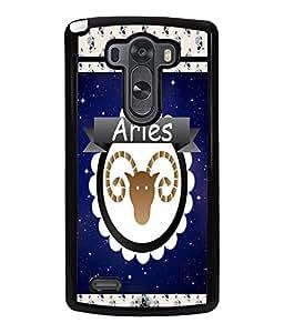 Fuson 2D Printed Sunsign Aries Designer back case cover for LG G3 - D4430