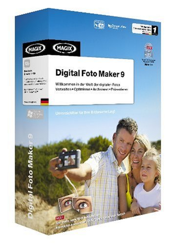 MAGIX Digital Foto Maker 9 (Foto-maker)
