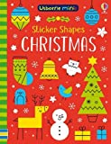 Sticker Shapes Christmas (Usborne Mini Books)
