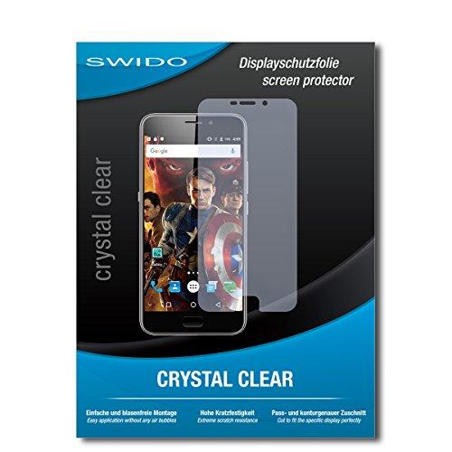 SWIDO Bildschirmschutzfolie für UMIDIGI Plus [3 Stück] Kristall-Klar, Extrem Kratzfest, Schutz vor Öl, Staub & Kratzer/Glasfolie, Bildschirmschutz, Schutzfolie, Panzerfolie