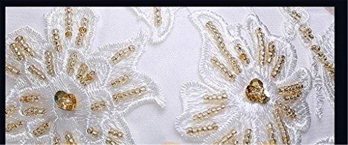 Drasawee - Robe - Trapèze - Femme Blanc