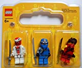LEGO Ninjago Figurenset: 3 Ninjago Figuren (Jay ZX, Kai und Snappa) in toller Geschenkverpackung