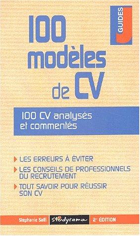 100 modèles de CV. 2ème édition