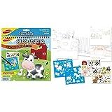 Joustra - Kids Studio Book: Granja, álbum de colorear (41612)