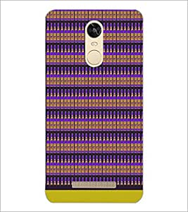 PrintDhaba Bottle Pattern D-1943 Back Case Cover for XIAOMI REDMI NOTE 3 (Multi-Coloured)