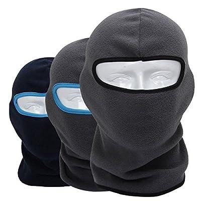 easyshop Warm Neck Vollgesichtsabdeckung Skilaufen Radfahren Snowboardmütze Skimütze Strickmütze CS Hat Hood