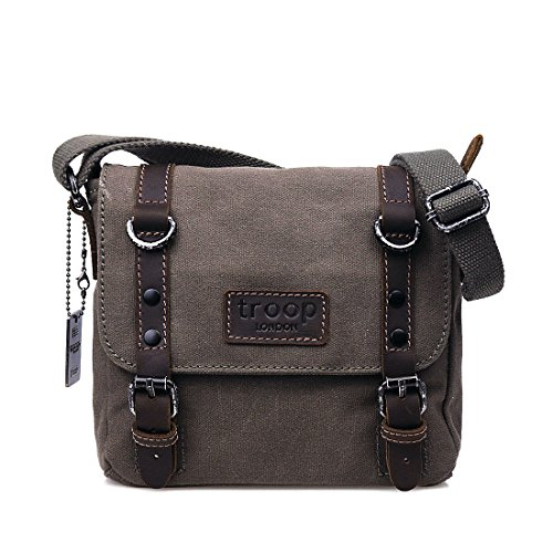trp0428-troop-london-heritage-canvas-leather-shoulder-bag-cross-body-bag-smart-small-travel-bag-oliv