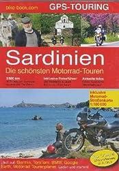 Sardinien GPS Touren. CD mit Straßenkarte 1 : 180 000