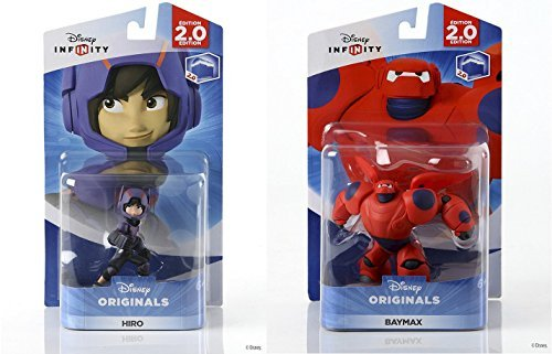 inals - Hiro and Baymax Figures from Big Hero 6 Character Bundle by Infinity ()