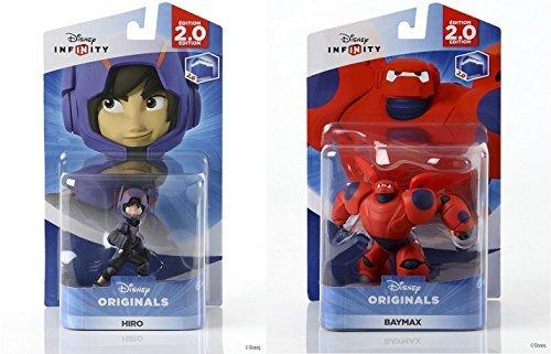 Disney INFINITY Originals - Hiro and Baymax Figures from Big Hero 6 Character Bundle by Infinity (Infinity Ps3-bundle)