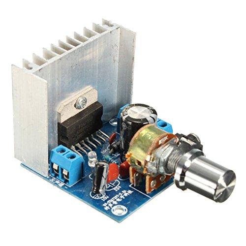 SODIAL(R) AC / DC 12V / 2A TDA7297 2x15W Digital Audio Verstaerker DIY Kit Dual-Channel-Modul Bücherregal Kit