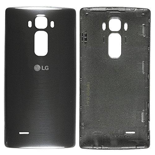 Original LG Akkudeckel black / schwarz für LG H955 G Flex 2 (Akkufachdeckel, Batterieabdeckung, Rückseite, Back-Cover) - ACQ87848107