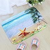 Teppiche, Morbuy Teppich Wohnzimmer Flanell 3D Ozean Preishammer versch Farben Fußmatte Unterlage Fußabtreter als Schmutzfangmatte und Sauberlaufmatte Fußabstreifer für Außen und Innen Matte (50*80cm, C)
