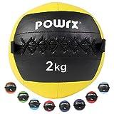 Powrx Medicine Ball Wall Ball 2kg-10kg (2kg/...