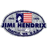 Old Glory Jimi Hendrix – Athletic – Aufkleber