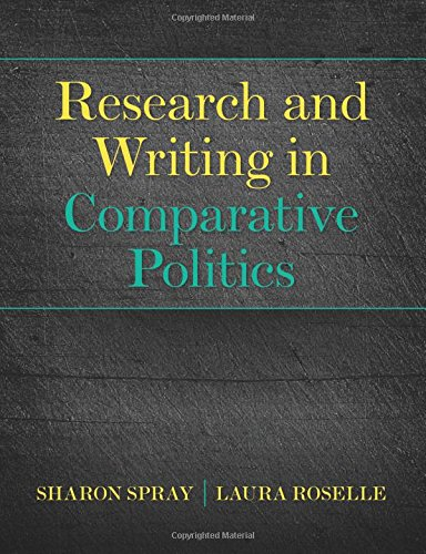 Research and Writing in Comparative Politics: Volume 1