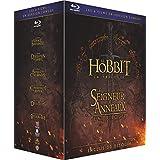 Blu-ray Le Hobbit et Le Seigneur des Anneaux, les trilogies - Version longue - WARNER BROS