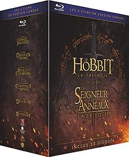 Le Hobbit et le Seigneur des Anneaux, Les Trilogies - Versions Longues - Coffret Blu-Ray [Version Longue] (B01KWEBOYO) | Amazon Products