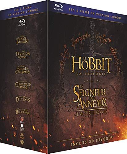 Le Hobbit et le Seigneur des Anneaux, Les Trilogies - Versions Longues - Coffret Blu-Ray [Version Longue]