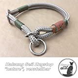 Halsband Seil Zugstop