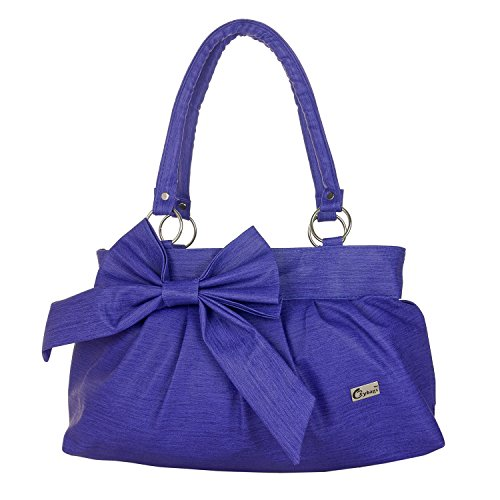 JG Shoppe Stylish and Fashionable PU Leather Handbag / Shoulder Bag / Purse For Women/Girls/Ladies (Dark Blue)