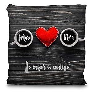 Cojin Personalizado San Valentin con