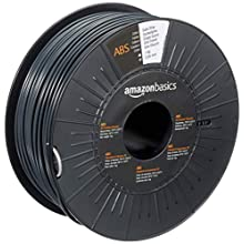 AmazonBasics ABS 3D Printer Filament, 2.85mm, Dark Gray, 1 kg Spool