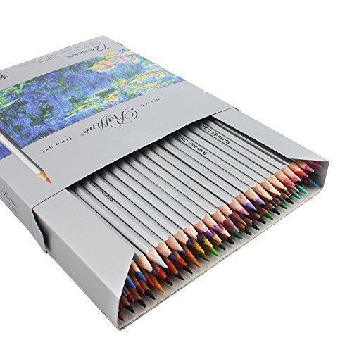 taotree 72Marco Kunst farbigen Bleistifte mit Zylinder Aufbewahrungsbox und gratis Spitzer, Kunst...