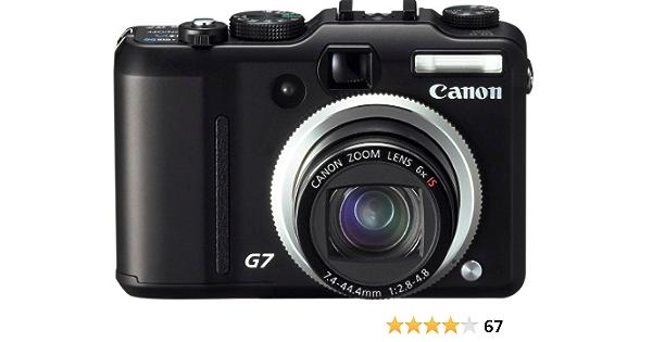 Canon Powershot G7 10mp Digital Camera 6x Optical Zoom Elektronik