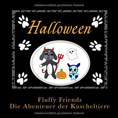 Fluffy Friends Halloween: Die Abenteuer der Kuscheltiere (Süßes Gespenst Halloween Bilder)