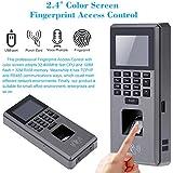 """KKmoon Huellas Dactilares Digital Biométricos Control de Acceso Puerta con Pantalla LCD 2.4"""" TFT Color USB"""