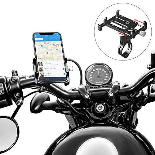 SunTop Porta Cellulare Bici, GUB Plus 6 Moto Universale 360° Supporto per Bicicletta per Il Telefono Cellulare, Smartphone, Navi,...